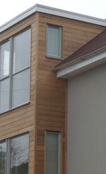 roofing services (timber clad house) image